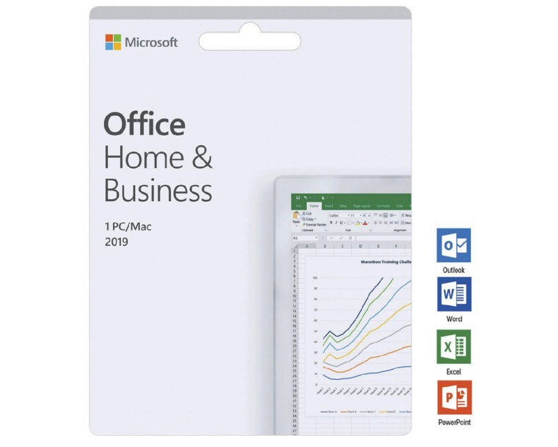 Office Home & Business 2019 · for PC/Mac · 1 User