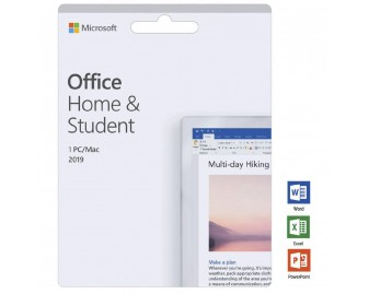Office Home & Student 2019 · for PC/Mac · 1 User