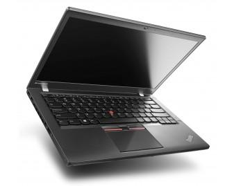 "Lenovo ThinkPad T450s refurbished laptop · i5-5300U · 4GB · 240GB SSD · 14.0"" · Grade A"