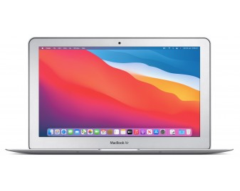 "Apple MacBook Air 11 refurbished laptop · i5-5250U · 4GB · 128GB SSD · 11.6"" · 1.08kg · Grade A"