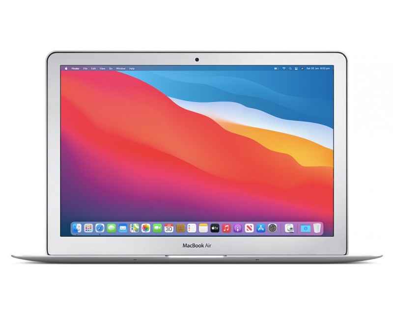 "Apple MacBook Air 13 refurbished laptop · i5-5250U · 8GB · 256GB SSD · 13.3"" WXGA+ · 1.35kg ·  Grade A"