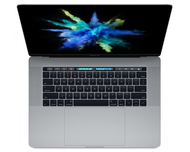 "Apple MacBook Pro 15 refurbished laptop · I7-7820HQ · 16GB · 512GB SSD · 15.4"" RETINA · Touch Bar · Space Gray · Grade A"